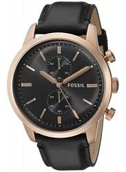 Fossil FS5097 Men's Townsman Gunmetal Dial Chronograph Watch