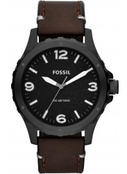 Fossil Men's JR1450 'Nate' Brown Leather Watch