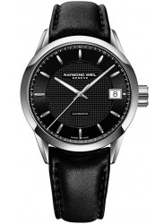 Raymond Weil Men's Freelancer Automatic Black Dial Watch 2740-STC-20021