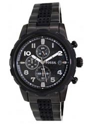 Fossil Men's Dean Chronograph Black Watch FS4904