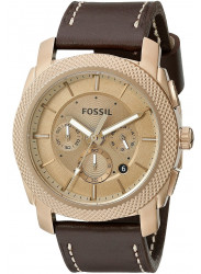 Fossil Men's FS5075 Brown Leather Quartz Watch