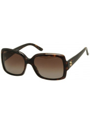 Gucci Women's Oversized Full Rim Brown Havana Sunglasses GG 3580/S WR9/LA