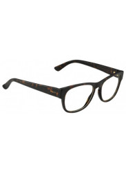 Gucci Unisex Full Rim Havana Transparent Sunglasses GG 1044/S TVD/99