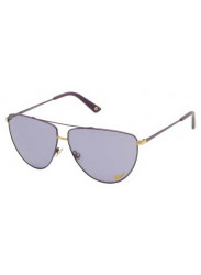Gucci Women's Aviator Full Rim Light Lilac Sunglasses GG 2909/S V7E/UR
