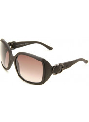 Gucci Women's Oversized Full Rim Dark Brown Sunglasses GG 3511/S XZG/HA