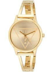 Guess Women's Lola Gold Dial Gold Stainless Steel Watch W1145L3