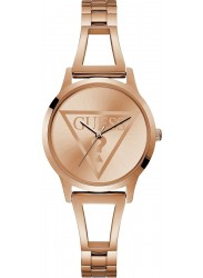 Guess Women's Lola Rose Gold Dial Rose Gold Stainless Steel Watch W1145L4
