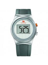 Hugo Boss Orange Men's Digital Dial Grey Rubber Watch HUG1512690