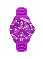 Ice Watch Unisex Purple Dial Purple Silicone Watch SI.PE.B.S.09