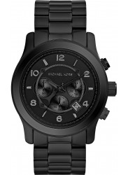 Michael Kors Men's Runway Black Dial Watch MK8157