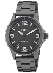 Fossil Men's Nate Grey Dial Stainless Steel Watch JR1457