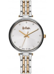 Lee Cooper Women's White Dial Two-Tone Stainless Steel Watch LC06329.530