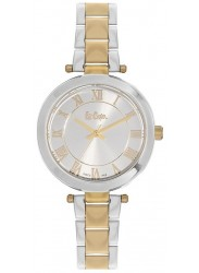 Lee Cooper Women's Silver Dial Two-Tone Stainless Steel Watch LC06332.230