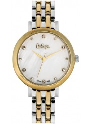 Lee Cooper Women's Mother of Pearl Dial Two Tone Stainless Steel Watch LC06475.220