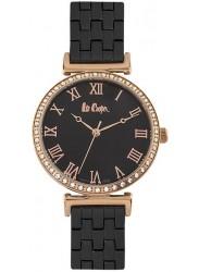 Lee Cooper Women's Black Dial Black Stainless Steel Watch LC06562.450