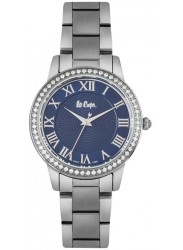 Lee Cooper Women's Blue Dial Stainless Steel Watch LC06579.390