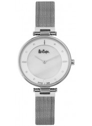 Lee Cooper Women's White Dial Stainless Steel Watch LC06637.320