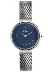 Lee Cooper Women's Blue Dial Stainless Steel Watch LC06638.390