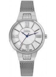Lee Cooper Women's Mother of Pearl Dial Stainless Steel Watch LC06646.320