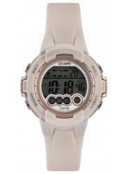 Lee Cooper Women's Digital Dial Sand Rubber Watch ORG05204.427