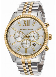 Michael Kors Men's Lexington Two Tone Watch MK8344
