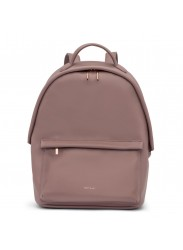 Matt & Nat Mahogany Munich Backpack Loom Collection MN-MUN-LO-MAHOGA