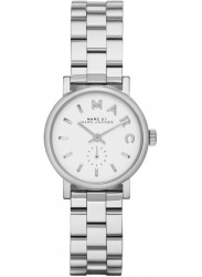 Marc by Marc Jacobs Women's Baker White Dial Stainless Steel Watch MBM3246