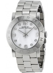 Marc by Marc Jacobs Women's Amy White Dial Stainless Steel Watch MBM3054