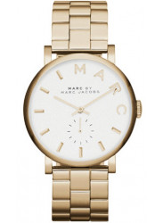 Marc by Marc Women's MBM3243  Baker Gold Stainless-Steel Swiss Quartz Watch