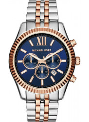 Michael Kors Unisex Lexington Blue Dial Watch MK8412