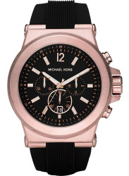 Michael Kors Men's Dylan Chronograph Rose Gold Tone Watch MK8184