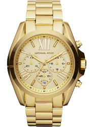 Michael Kors Unisex Bradshaw Chronograph Gold-Tone Watch MK5605