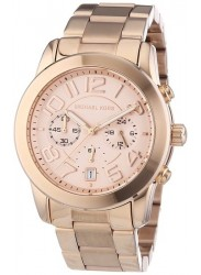 Michael Kors Women's Mercer Chronograph Rose Gold Watch MK5727