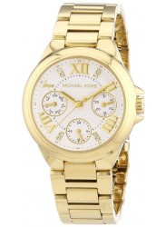 Michael Kors Women's Mini Camille White Dial Gold-Tone Watch MK5759
