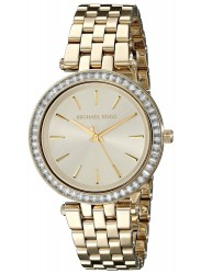 Michael Kors Women's Mini Darci Gold Tone Crystals Watch MK3365