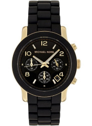 Michael Kors Women's Runway Black Dial Watch MK5191