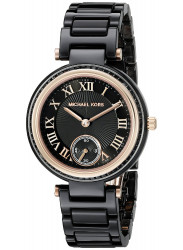 Michael Kors MK6242 Women's Black Ceramic Swiss Automatic Watch
