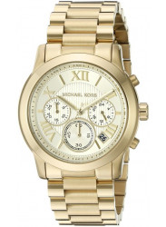Michael Kors Women's Cooper Chronograph Gold Tone Watch MK6274