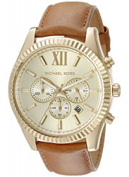Michael Kors Men's Lexington Gold Dial Watch MK8447