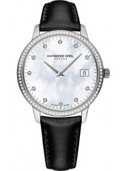 Raymond Weil Women's Toccata Mother Of Pearl Diamond Dial Watch 5388-SLS-97081