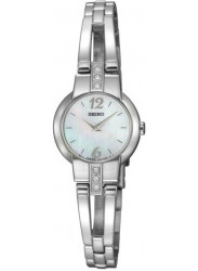 Seiko Women's Mother Of Pearl Stainless Steel Watch SUJG45