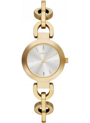 DKNY Women's Silver Dial Stainless Steel Watch NY2134