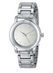 DKNY Women's Silver Dial Stainless Steel Watch NY2180