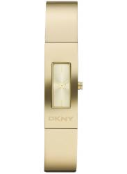 DKNY Women's Gold Dial Gold Tone Watch NY8755