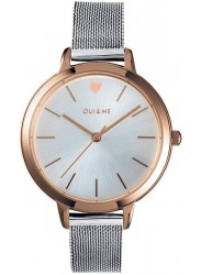OUI&ME Women's Amourette Silver Dial Stainless Steel Watch ME010011