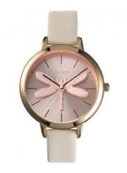 OUI&ME Women's Amourette Rose Gold Dial Beige Leather Watch ME010100