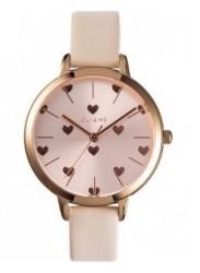 OUI&ME Women's Amourette Rose Gold Dial Beige Leather Watch ME010106
