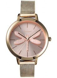 OUI&ME Women's Amourette Rose Gold Dial Rose Gold Stainless Steel Watch ME010136