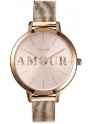 OUI&ME Women's Fleurette Rose Gold Dial Rose Gold Stainless Steel Watch ME010043