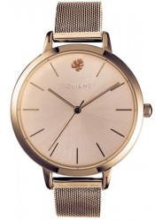 OUI&ME Women's Grande Amourette Rose Gold Dial Rose Gold Stainless Steel Watch ME010021